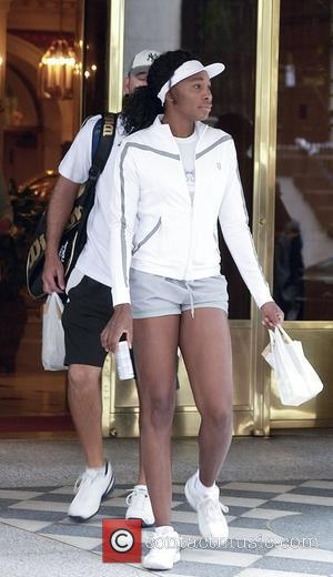 Venus Williams and Her Coach Leave Forrest Hills During The 2008 Us Tennis Opens