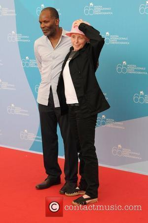 Alex Descas and Claire Denis