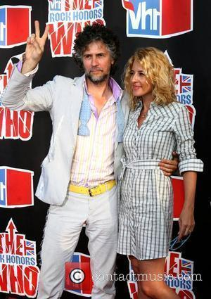 Wayne Coyne & Michelle Coyne  2008 VH1 Rock Honors honoring The Who at UCLA's Pauley Pavilion - Arrivals Los...