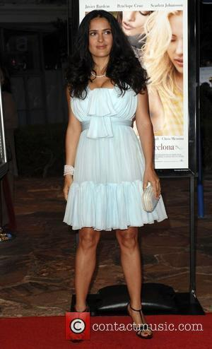 Hayek Sued Over Business Venture