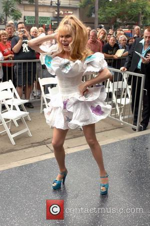 Charo The Village People are honored with the 2,369th star on the Hollywood Walk of Fame Los Angeles, California -...