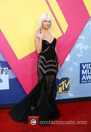 Christina Aguilera 2008 MTV Video Music Awards - Arrivals Los Angeles, California - 07.09.08
