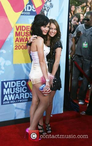 Katy Perry, Miley Cyrus and Mtv
