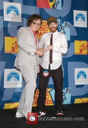 Clark Duke and Seth Green 2008 MTV Video Music Awards - Press room Los Angeles, California - 07.09.08