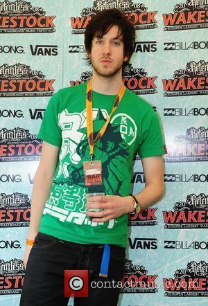 Calvin Harris backstage Wakestock Festival 2008 - Day Two, held at at Blenheim Palace Oxford, England - 28.06.08