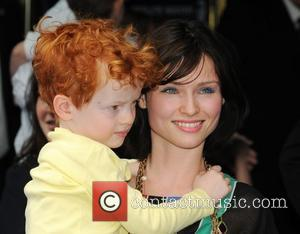 Sophie Ellis Bextor with her son Sonny WALL.E premiere held at the Empire - arrivals London, England - 13.07.08