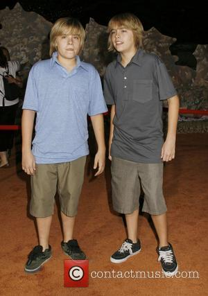 Dylan Sprouse and Cole Sprouse World premiere of Disney Pixar's ' Wall-E' at The Greek Theatre Los Angeles, California -...