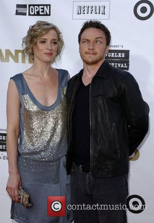 Anne-Marie Duff and James McAvoy Premiere of 'Wanted' held at the Mann Village Theater Los Angeles, California - 19.06.08
