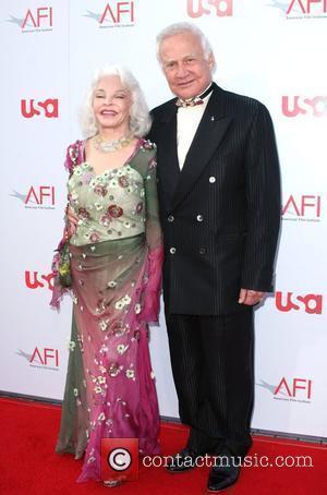 Buzz Aldrin and wife 36th AFI Lifetime achievement award honouring Warren Beatty Los Angeles, California - 12.06.08