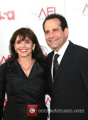 Tony Shalhoub and wife Brook Adams 36th AFI Lifetime achievement award honouring Warren Beatty Los Angeles, California - 12.06.08