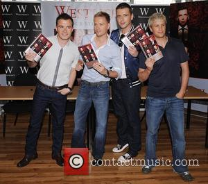 Westlife booksigning for their new book 'Westlife- Our Story' at Waterstone's, Piccadilly London, England -16.06.08