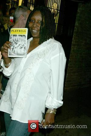 Whoopi Goldberg  first night starring in the Broadway musical 'Xanadu' at the Helen Hayes Theatre. New York City, USA...