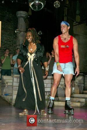 Whoopi Goldberg and Cheyenne Jackson Whoopi Goldberg's first night starring in the Broadway musical 'Xanadu' at the Helen Hayes Theatre....