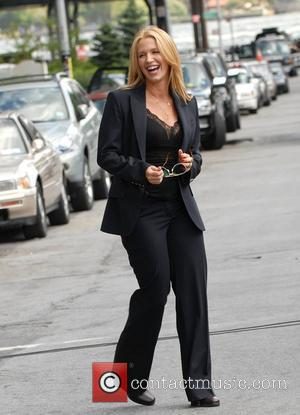 Poppy Montgomery on the set for 'Without A Trace' filming in Manhattan New York City, USA - 08.08.08