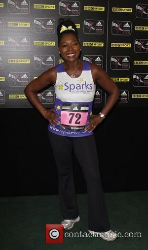 Floella Benjamin Adidas Women's Challenge run for Breast Cancer, held at Hyde Park London, England - 07.09.08