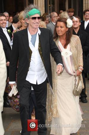 Keith Richards The wedding of Leah Wood and Jack MacDonald at Southwark Cathedral London, England - 21.06.08