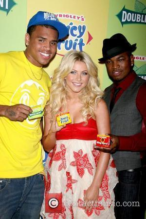 Chris Brown and Julianne Hough