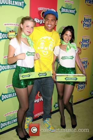 Chris Brown and Wrigley's Girls
