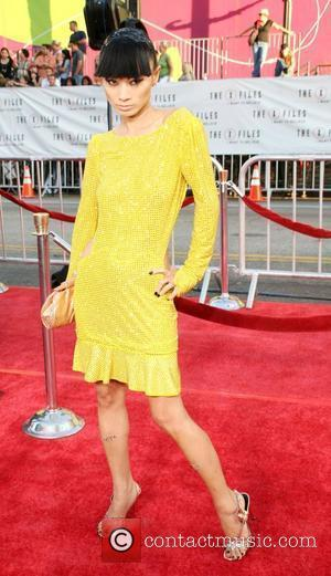 Bai Ling  World Premiere Of The X Files 'I want to Believe' at the Grauman Chinese theater Hollywood, California...