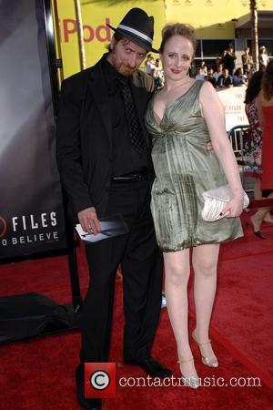 Frank Miller and Kimberly Cox World Premiere Of The X Files 'I want to Believe' at the Grauman Chinese theater...
