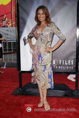 Tia Carrere World Premiere Of The X Files 'I want to Believe' at the Grauman Chinese theater Hollywood, California -...