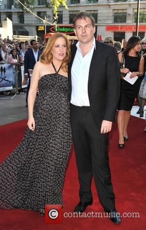 Gillian Anderson and Mark Griffiths