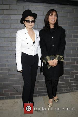 Yoko Ono and Olivia Harrison