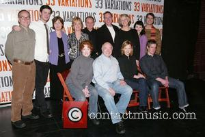 Colin Hanks, Jane Fonda Photocall for the upcoming Broadway play '33 Variations' held at the New York Theatre Workshop New...