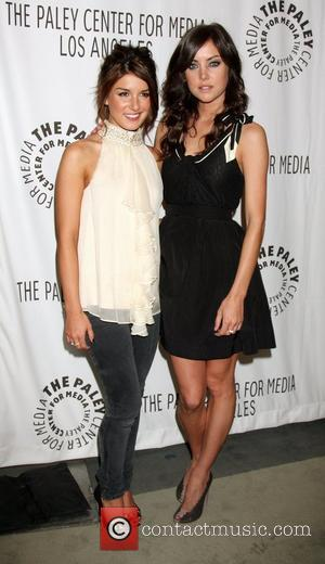 Shenae Grimes and Jessica Stroup