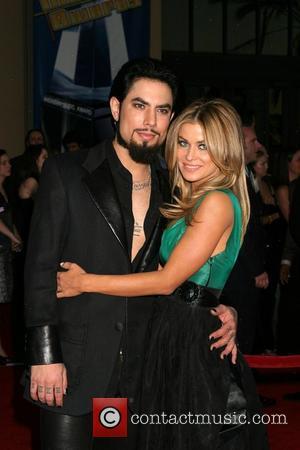 Dave Navarro and Carmen Electra