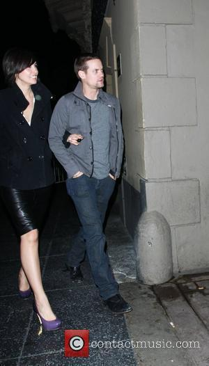 Shane West and a female friend arrive at Bardot nightclub Los Angeles, California - 12.03.09