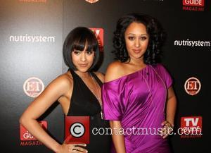 Tia Mowry & Tamara Mowry arriving at the TV Guide Magazine Sexiest Stars Party at the Sunset Towers Hotel in...