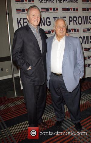 Jon Voight and Tommy Lasorda