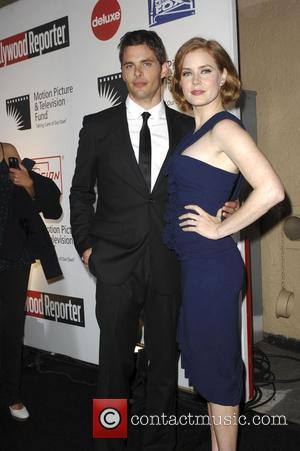 James Marsden and Amy Adams Fourth Annual A Fine Romance to benefit the Motion Picture & Television Fund Sony Pictures...