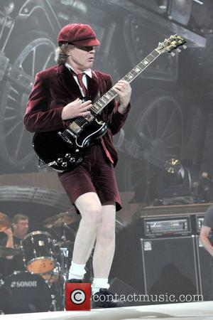 Angus Young  AC/DC live in concert at Madison Square Garden New York City, USA - 12.11.08