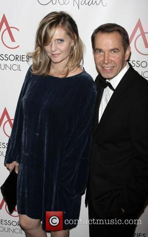 Jeff Koons and guest arriving to the 12th annual ACE Awards presented by the Accessories Council at Cipriani on 42nd...