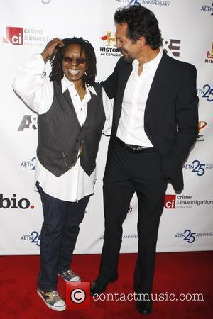 Whoopi Goldberg and Bejamin Bratt