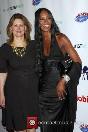 Sarah Brown and Naomi Campbell African First Ladies Heath Summit Gala held at the Beverly Hills Hotel. Los Angeles, CA...