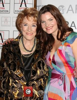 Jeanne Cooper and Heather Tom