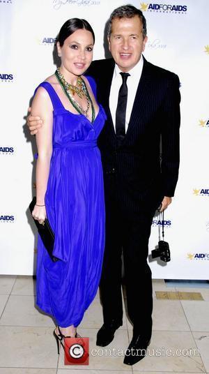Fabiola Beracasa and Mario Testino