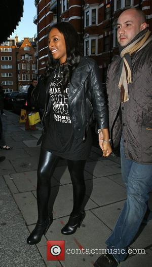 Alexandra Burke's Brother 'Working Illegally'
