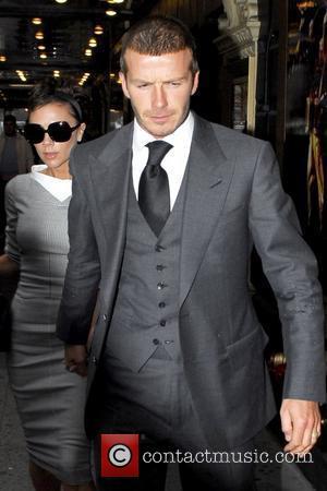Victoria Beckham and Gerald Schoenfeld