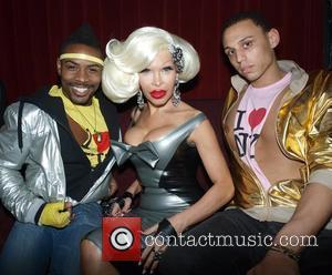 Amanda Lepore and guests at her Birthday Bash held at Mr Black New York City, USA - 20.11.08