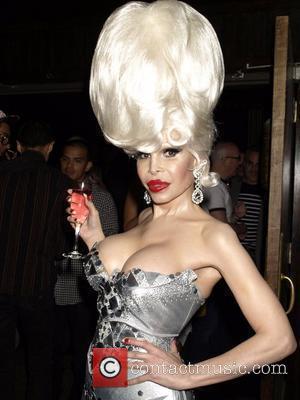 Transgendered starlet Amanda Lepore  launches her new limited edition perfume, Amanda eau de parfum at Hiro Ballroom New York...