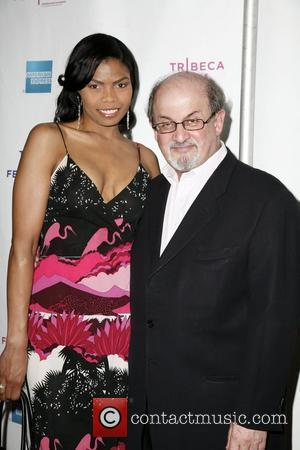 Salman Rushdie and Guest 8th Annual Tribeca Film Festival - Premiere of American Casino - Arrivals New York City, USA...