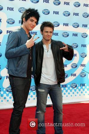Adam Lambert and Kris Allen The American Idol Season 8 Finale held at the Nokia Theater - Arrivals Los Angeles,...