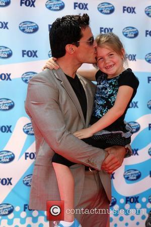 Antonio Sabato Jr. and Daughter, Mina Bree The American Idol Season 8 Finale held at the Nokia Theater - Arrivals...