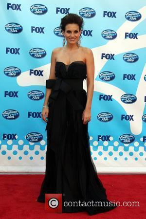 Kara DioGuardi The American Idol Season 8 Finale held at the Nokia Theater - Arrivals Los Angeles, California - 20.05.09