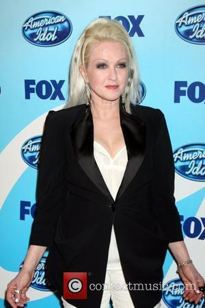 Cyndi Lauper  The American Idol Season 8 Finale held at the Nokia Theater - Press Room Los Angeles, California...