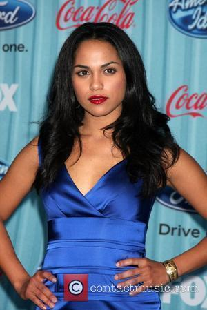 Monica Raymund  American Idol's 'The Top 12 Party' - Red Carpet Arrivals held at Area nightclub Los Angeles, California...